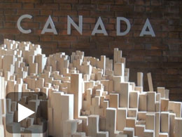 The Canadian Pavilion at the 13th Venice Architecture Biennale