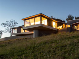 High country house