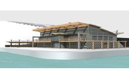 Κολυμβητήριο με ανοιγόμενη οροφή στον ναυτικό όμιλο Βουλιαγμένης