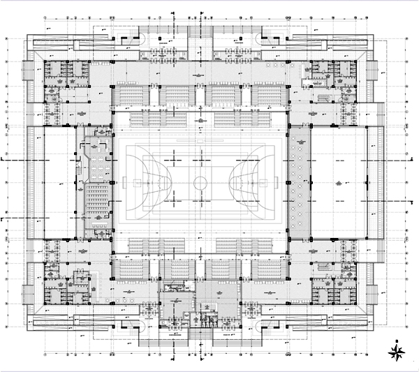 Articles Students Projects Design Projects 2010 Indoor Sports Hall In Alexandroupoli