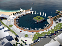 Panhellenic competition for Planning Sxismatos' square in Elounda Crete