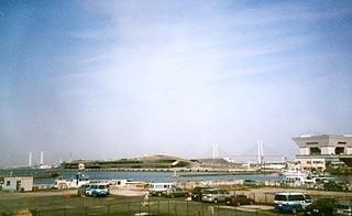 Σταθμός του διεθνούς λιμένα της Yokohama στην Ιαπωνία.