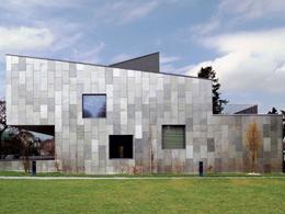 Δημοτικό Σχολείο και Βιβλιοθήκη, στο Pregny-Chambesy, Γενεύη