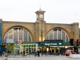 King's Cross new Facade