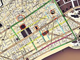 Αναδιάρθρωση του δικτύου δημοσίων συγκοινωνιών της Θεσσαλονίκης και αναπαράστασή του σε χάρτη φιλικό προς το χρήστη