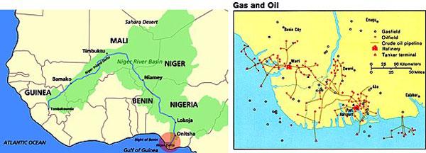 Niger location map