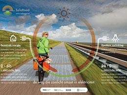 Ηλιακοί ποδηλατόδρομοι για ένα βιώσιμο μέλλον ενεργειακά ουδέτερης κινητικότητας και καθαρής ενέργειας