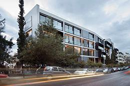 Μετασκευή κτηρίου Γραφείων Δοξιάδη-ATI σε κτήριο κατοικιών (One Athens)