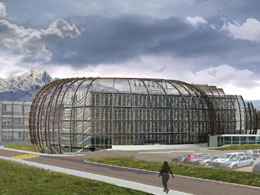 Energy-efficient, architectural renovation of an office building at CERN