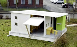 The Wall paper house offers cheap dry home for poor and displaced