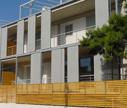 Three residences at Athens