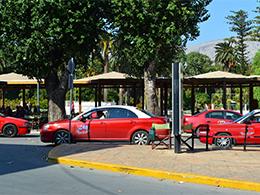 Στεγασμένος Χώρος παραμονής οδηγών και επιβατών Ταξί στη πόλη της Χίου