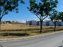 Ιατρική σχολή στην Πανεπιστημιούπολη. Πανεπιστήμιο Κύπρου
