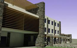 Χωροθέτηση και σχεδιασμός ξενοδοχειακής μονάδας 200 κλινών στην Κέα.