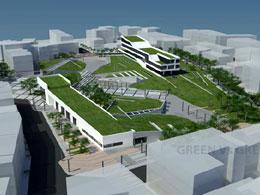 (214) GREEN Vs GREY 3 κτίρια και 1 πλατεία στο κέντρο της Κατερίνης