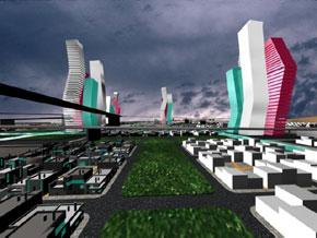 Οι Αόρατες Πόλεις του Italo Calvino ως παράμετρος δημιουργίας μιας εικονικής πόλης.