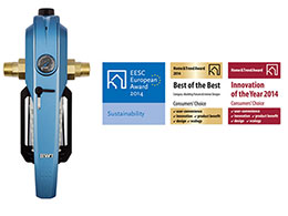 Petridis Water Technologies: Drinking water hygiene is now simpler than ever! Awarded BWT E1 Single Lever filter, for clean, healthy water at home.
