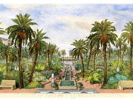 Landscape design for different cultures