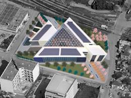 Σχεδιασμός βιώσιμου κτιρίου γραφείων στη δυτική είσοδο της Θεσσαλονίκης