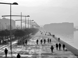 The new Thessaloniki's beach is among finals for Mies Van Der Rohe Awards 2015