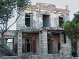 Το κόκκινο σπίτι στη Σύρο
