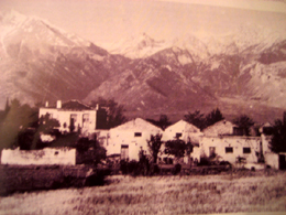 Κ. Τιθορέα, στο παλιό εργοστάσιο Μύλος και εκκοκκιστήριο βάμβακος