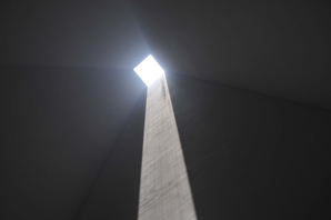 f0c449a05ce4c Eduardo Souto de Moura, Casa das Histórias Paula Rego, Cascais, 2005-09.  Right, interior of pyramid with skylight. Photographs by Styliane Philippou