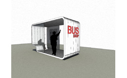 Folding BusStop - International competition in Utah U.S.A.