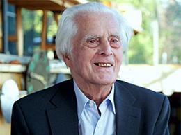 Frei Otto, the winner of Pritzker Architecture Prize 2015