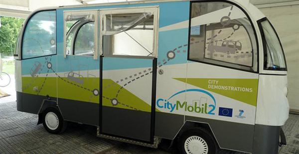 Το Λεωφορείο Χωρίς Οδηγό φέρνει πρόσθετο δίκτυο οπτικών ινών στα Τρίκαλα