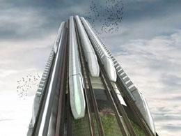Hyper Speed Vertical Train Hub