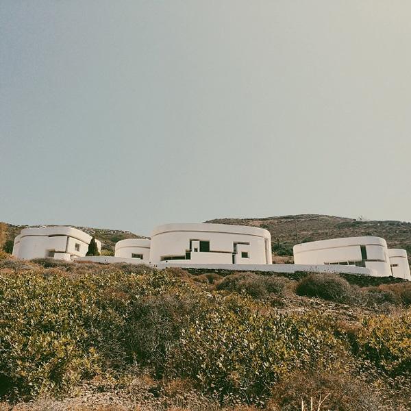 Σπίτι διακοπών στην Αμοργό του Ιάννη Ξενάκη