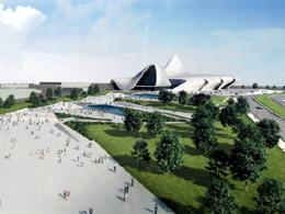 Νέο Μέγαρο Πολιτισμού στο Baku του Azerbaijan